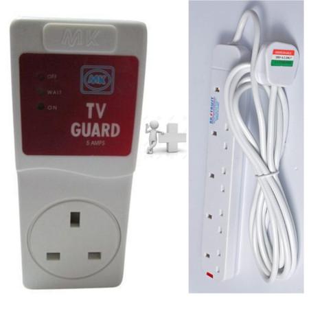TV Guard + Free 5way Extesion Socket