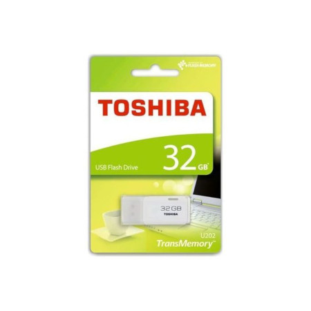 Toshiba Highspeed USB Flashdisk Transmemory U202 - 32GB White