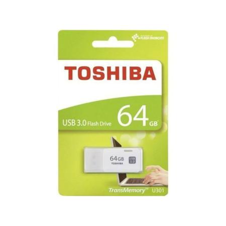 Toshiba USB Flash Drive 64GB (U301TransMemory White)