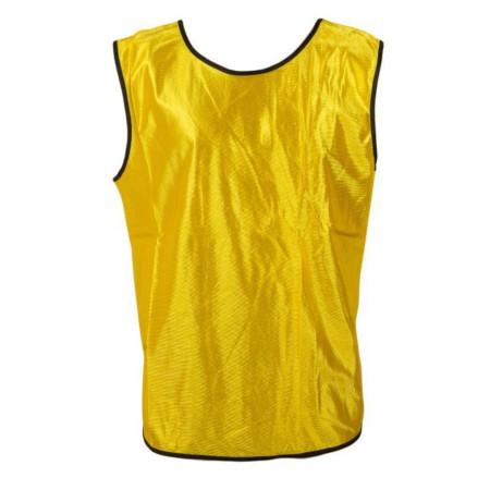 Fahion Yellow Sports Training Vest - 5 Reflective Bibs