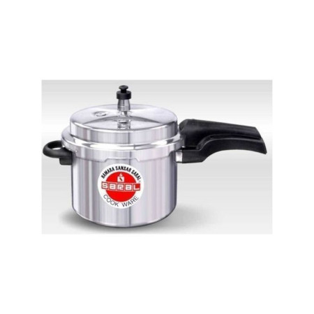 Saral Aluminum Pressure Cooker 5L