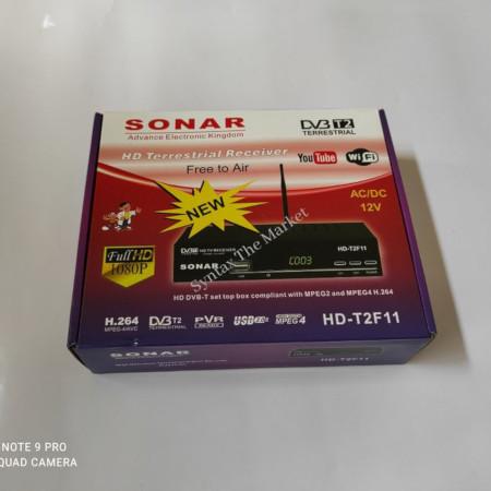 Sonar Free To Air Digital Decoder Full HD 1080P