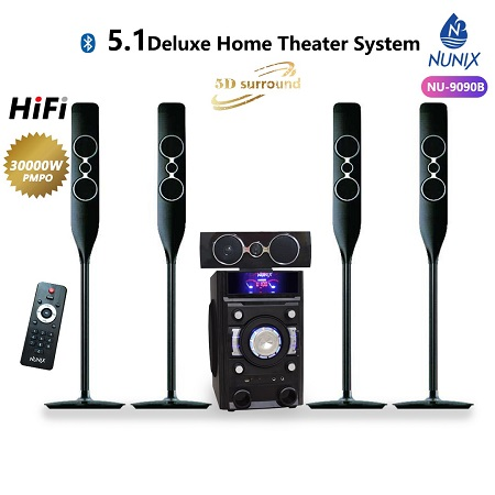Nunix NU-9090B 5.1 Deluxe Home Theatre System