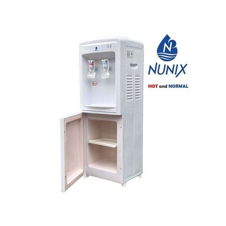 Nunix Hot And Normal Free Standing Water Dispenser-White R5