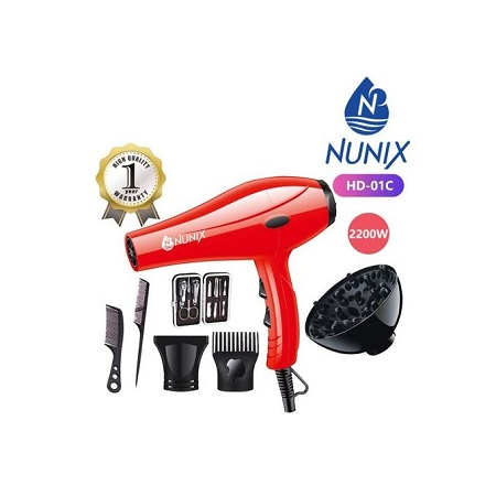 Nunix Blow Dry Machine -Hair Dryer HD-01C