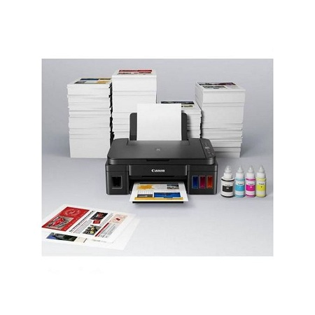 Generic PIXMA G2411 Ink Tank Printer + Ink Bottles