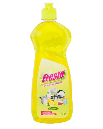 Fresto dishwash liquid 750ml lemon