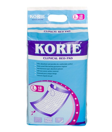Korie Clinical Bed Pad Large 10