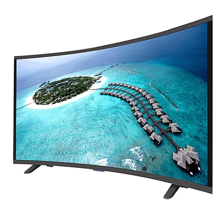 Vision Plus VP8843C - 43 Inch - FHD Smart Curved, Android LED TV - Black + FREE WALL MOUNT