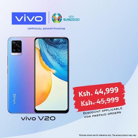 vivo V20 - Dual SIM - 8GB RAM - 256GB HDD - Midnight Jazz
