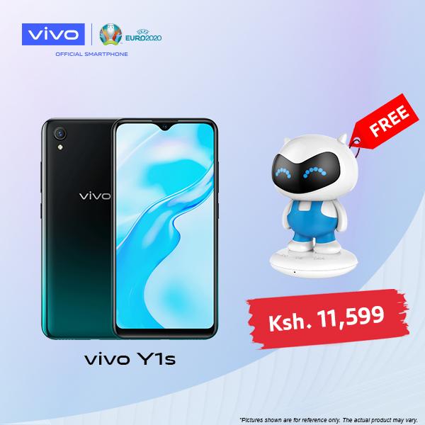 vivo Y1s 6.22 Inch, 32GB + 2GB RAM (Dual SIM), 4030mAh