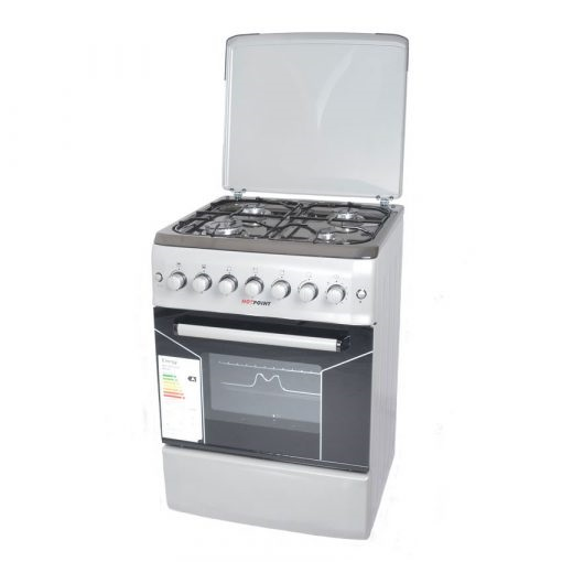 Von F5N40G2.P.S/ F5S40G2.S/ VAC5F240RS 4 Gas Cooker - Silver
