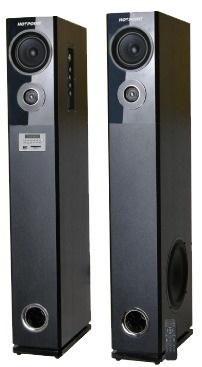 Von HA24020BT/VEA2402ET 2.0 Active Speakers, Tall boy Subwoofer, Bluetooth - 240W