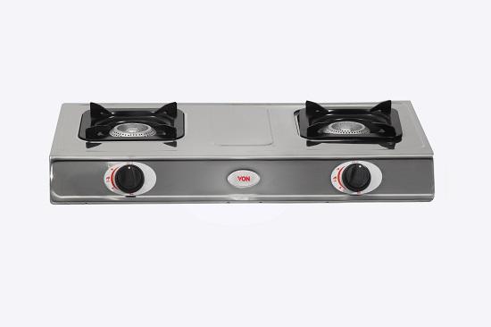 Von HPTT-2012S/VAC7J201X Table Top 2 Burner - Stainless Steel