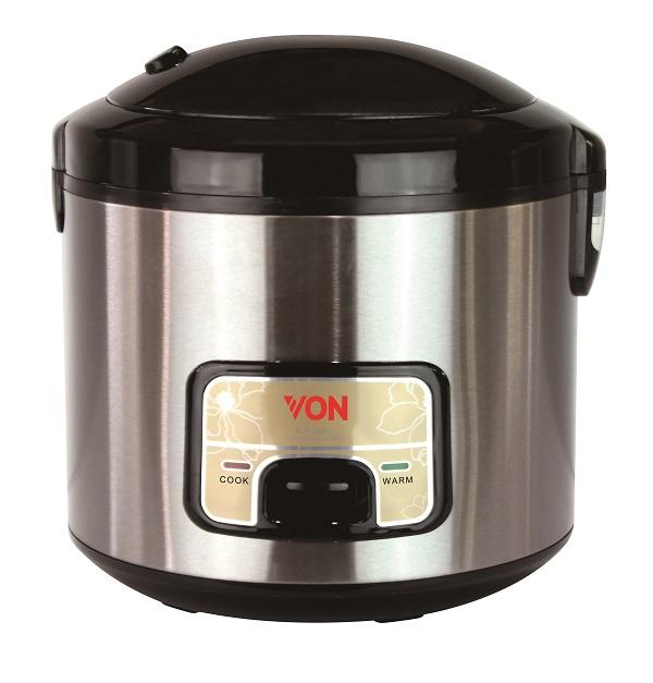 Von HR1831GS/VSRM18MGX Rice Cooker Silver 1.8L