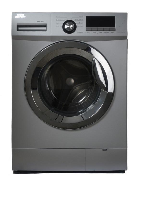 Von HWF-708S/VALW-07FXS Front Load Washing Machine Silver - 7KG