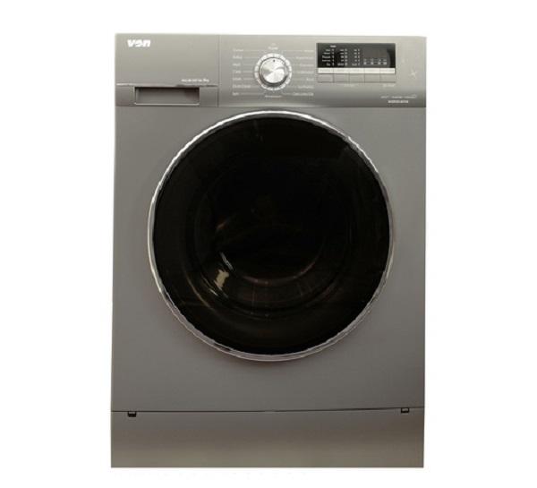 Von HWF-916SI/VALW-09FXK Washing Machine, Front Load, 9KG, Inverter - Silver
