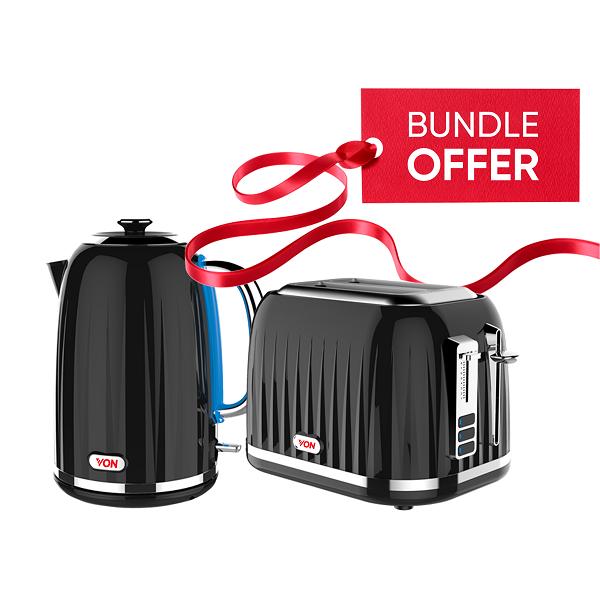 Von Premium Kettle + Toaster Bundle 2