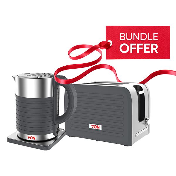 Von Premium Kettle + Toaster Bundle 5