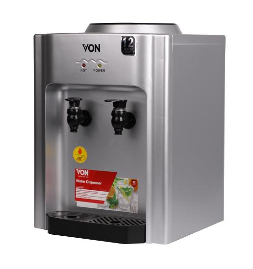 Von VADA1100Y Tabletop Water Dispenser Hot and Normal - Silver