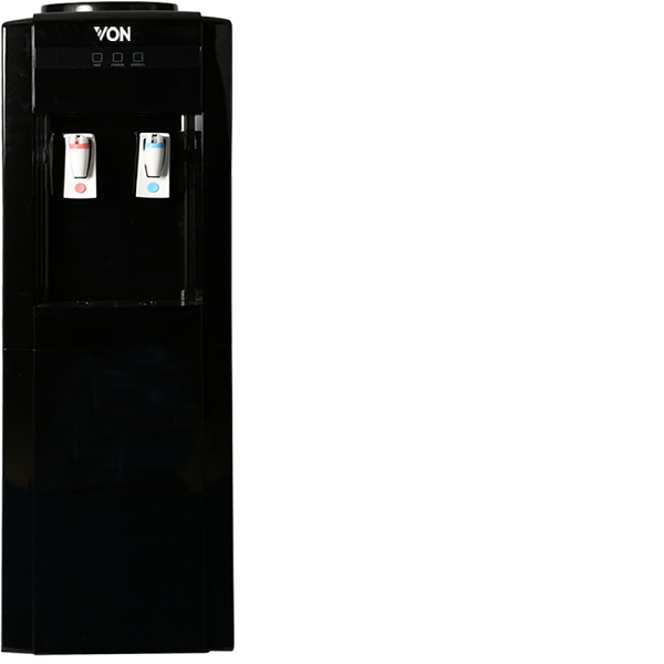 Von VADA2110K Water Dispenser Hot and Normal - Black