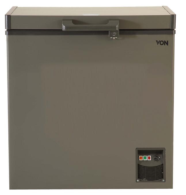 Von VAFC-19DUS Showcase Freezer - Grey
