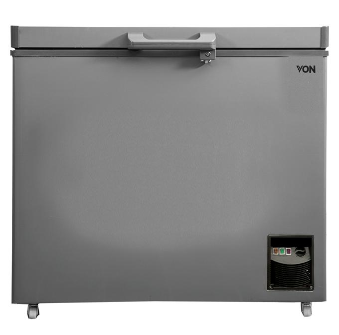 Von VAFC-26DUS Showcase Freezer - Grey