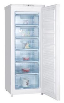 Von VAFS-20DHS Upright Freezer,182L - Silver
