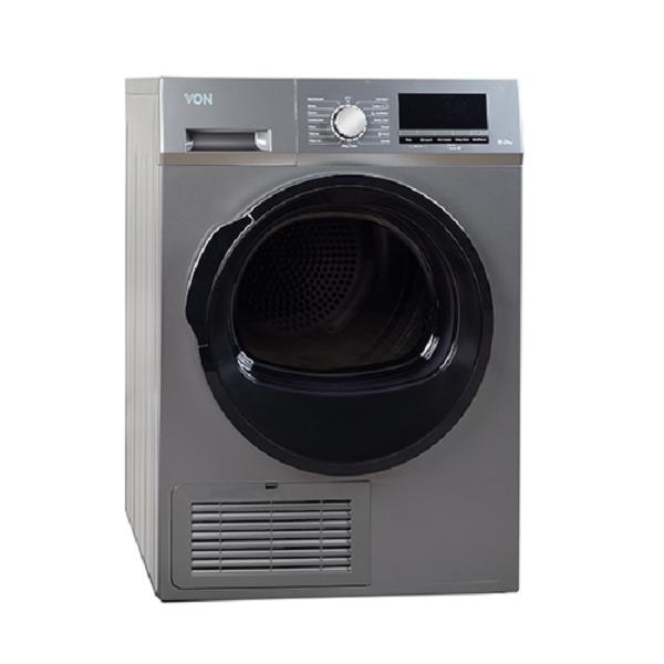 Von VALD-08CGS Condensing Dryer 8KG - Silver