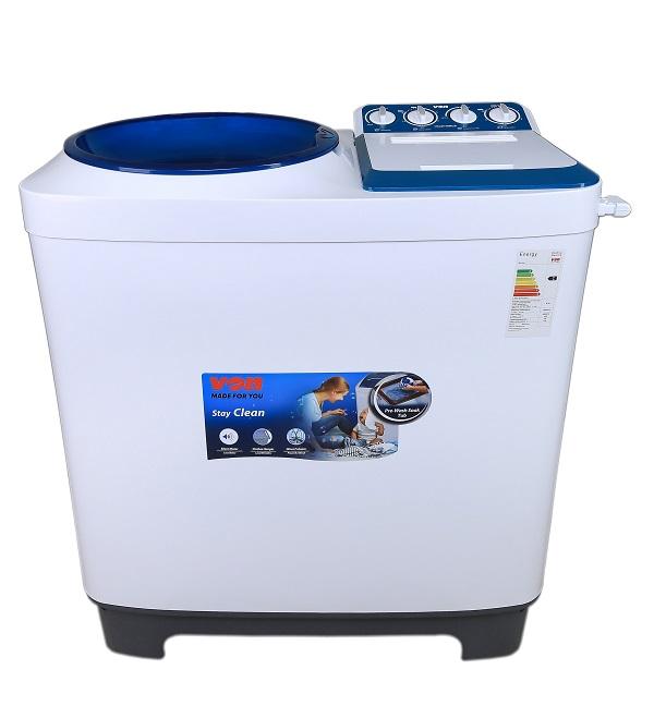 Von VALW-10MLB Twin Tub Washing Machine - White - 10Kg