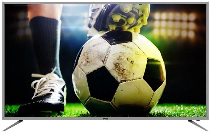 Von VEL65USAF/VEL65USCF 65 Inch LED TV 4K UHD, Smart