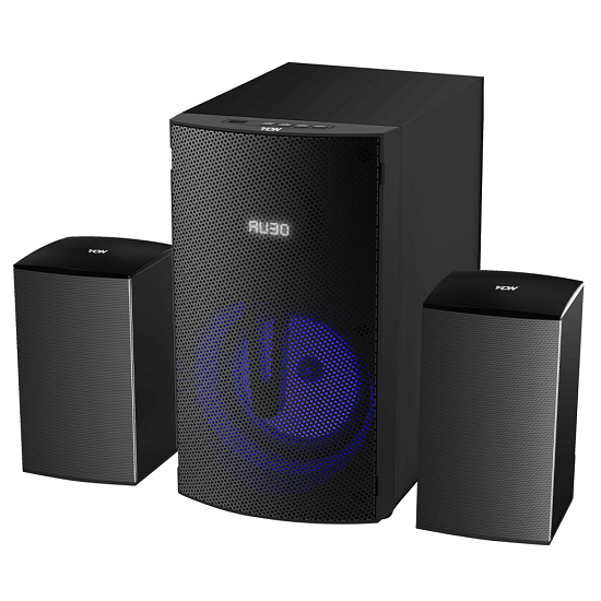 Von VES0802FS Subwoofer 2.1CH, Bluetooth, USB - 80W RMS