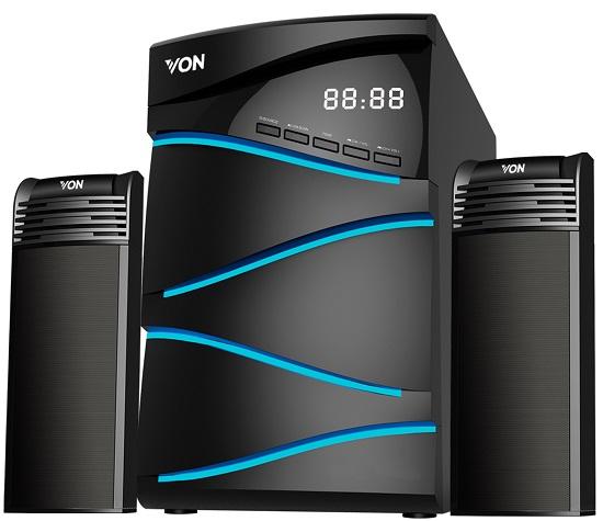 Von VES1002FS Subwoofer 2.1CH, Bluetooth, USB - 100W RMS