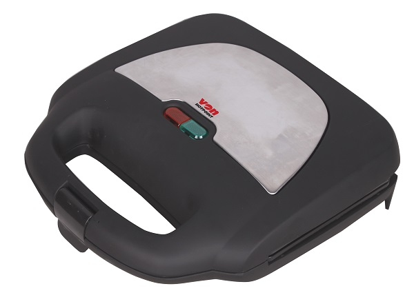 Von VSSP2GMCX 2 Slice Sandwich Maker, Grill - Stainless Steel
