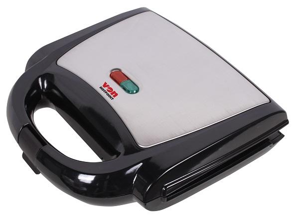 Von VSSP2YMCX 2 Slice Sandwich Maker - Stainless Steel