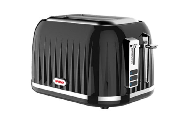 Von VSTP02CVK Premium 2 Slice Toaster