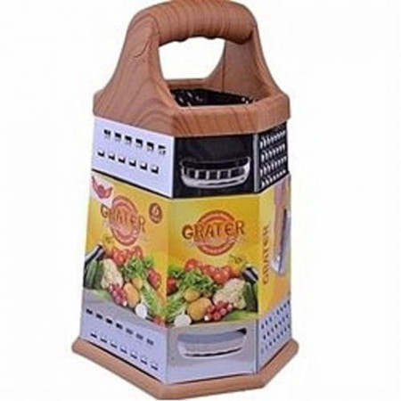 6-Sided Stainless Steel Vegetable Grater