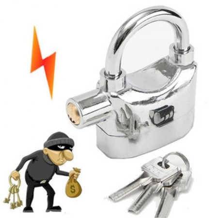 Automatic Tamperproof Security Anti-Theft Alarm Padlock