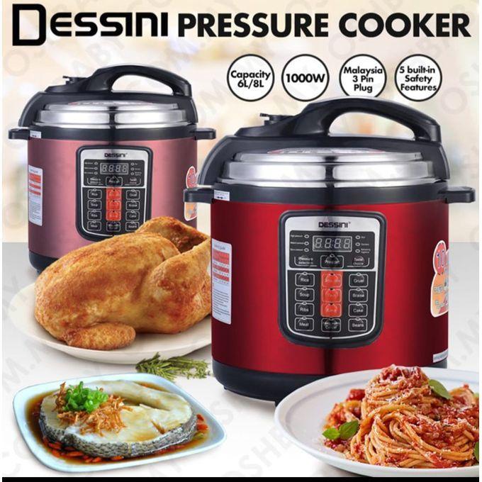Dessini 6Ltrs Electric Pressure Cooker