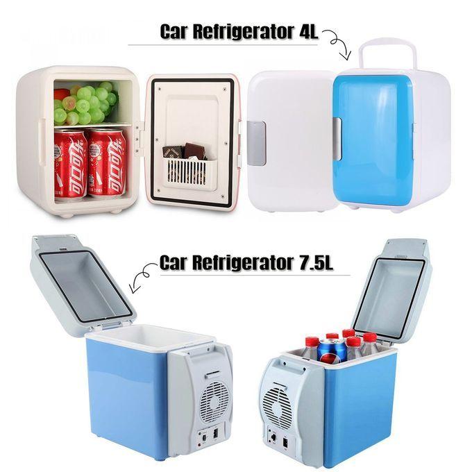 Generic 7.5L Car Mini Portable Fridge 12v Warmer & Refrigerator