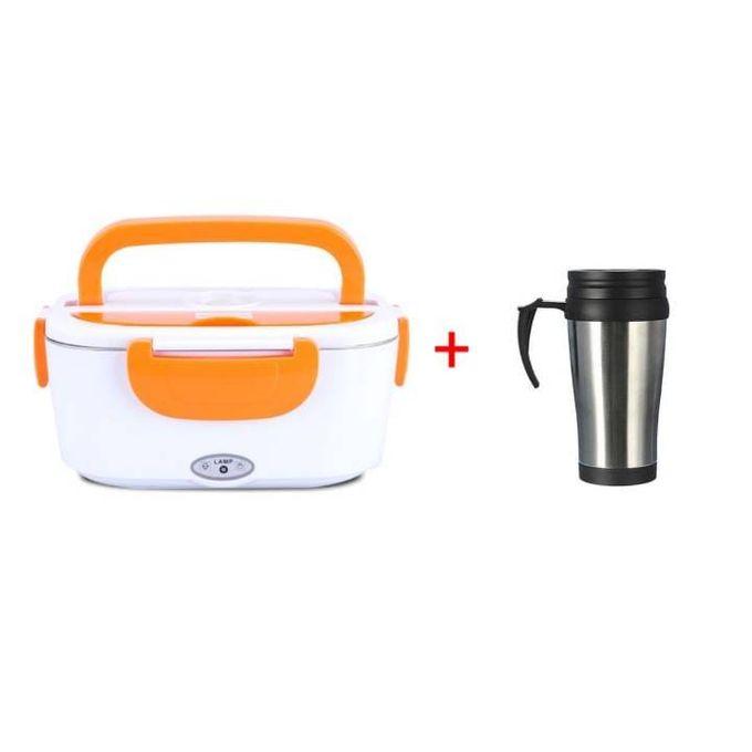 Generic Electric Lunch Box Plus Free Mug