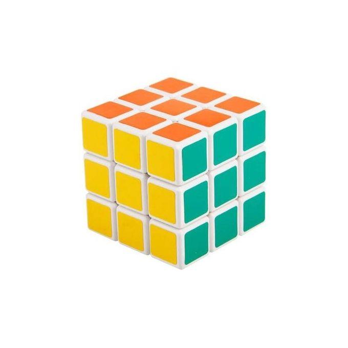 Generic Fancy Magic Rubik's Cube for children - Multicolored