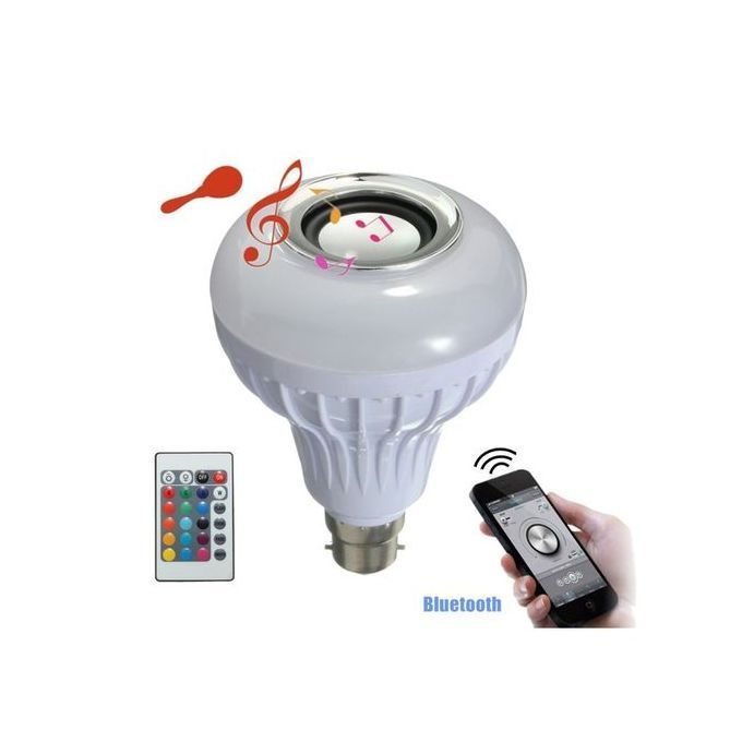 Generic LED Bulb With Music Speaker & Bluetooth