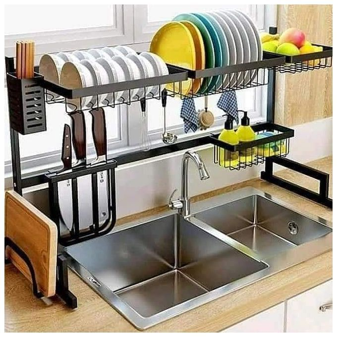 Generic Over The Sink Kitchen Dish Drying Rack