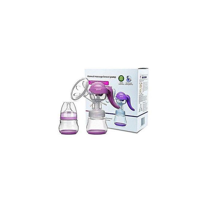 Generic Manual Breast Pump + Baby Bottle Cap