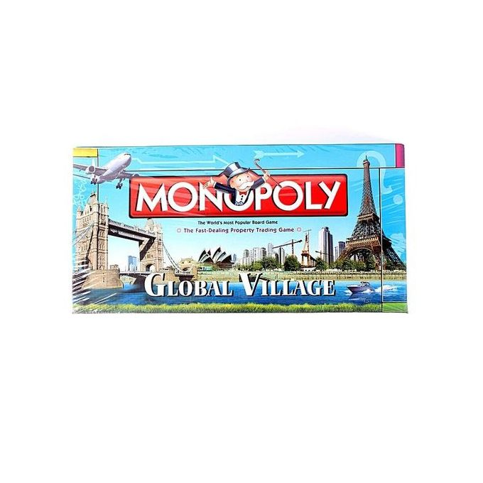 Monopoly Global Village Board