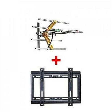 Digital Receiver TV Aerial + Wall Mount Bracket 14-42