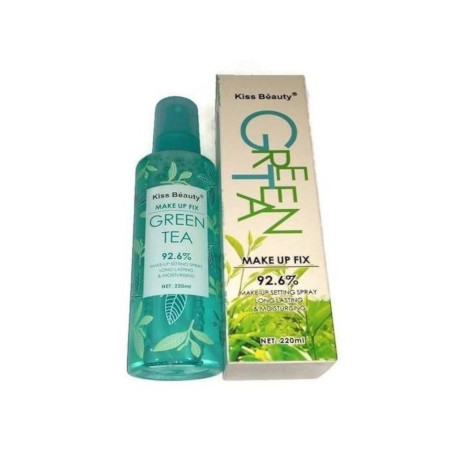 Kiss Beauty Green Tea Make Up Fix setting spray