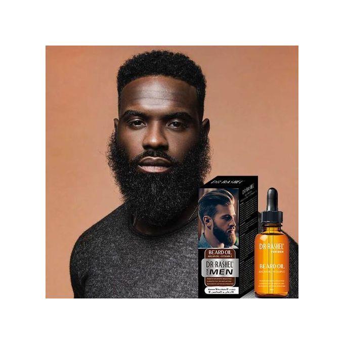 Dr. Rashel Beard Growth Oil With Argan Oil + Vitamin E For Men.