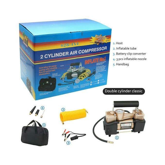 Generic Heavy Duty Double Digital Portable Air Compressor